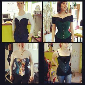 Workshop overborst corset