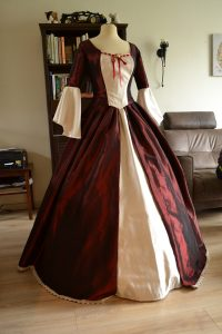 Belle Christmas Gown