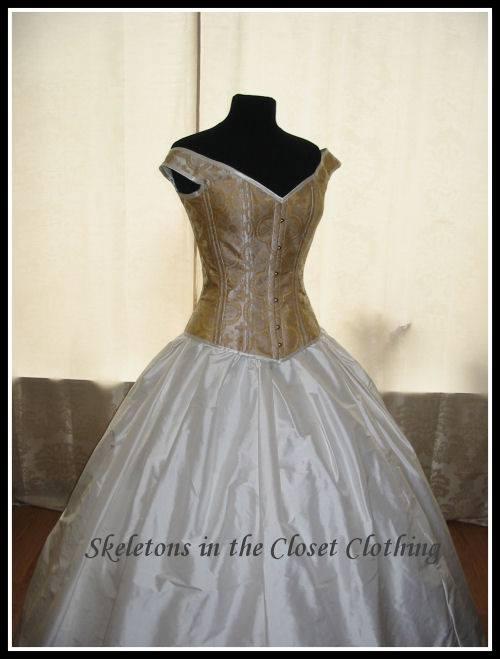 Elisa's wedding gown
