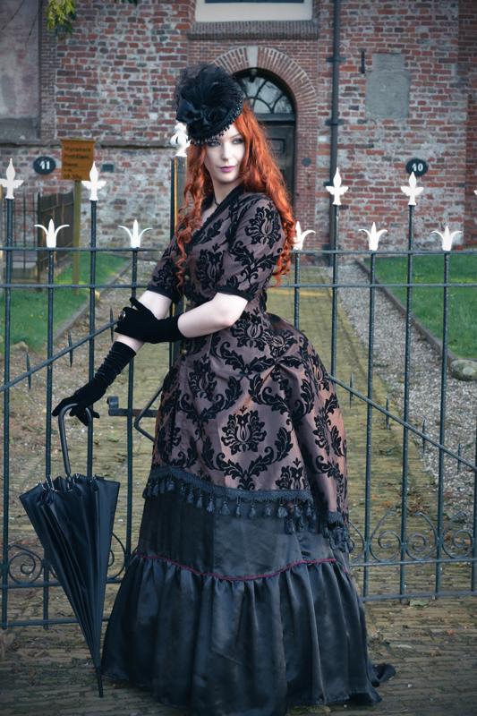 Hazel Bustle Dress